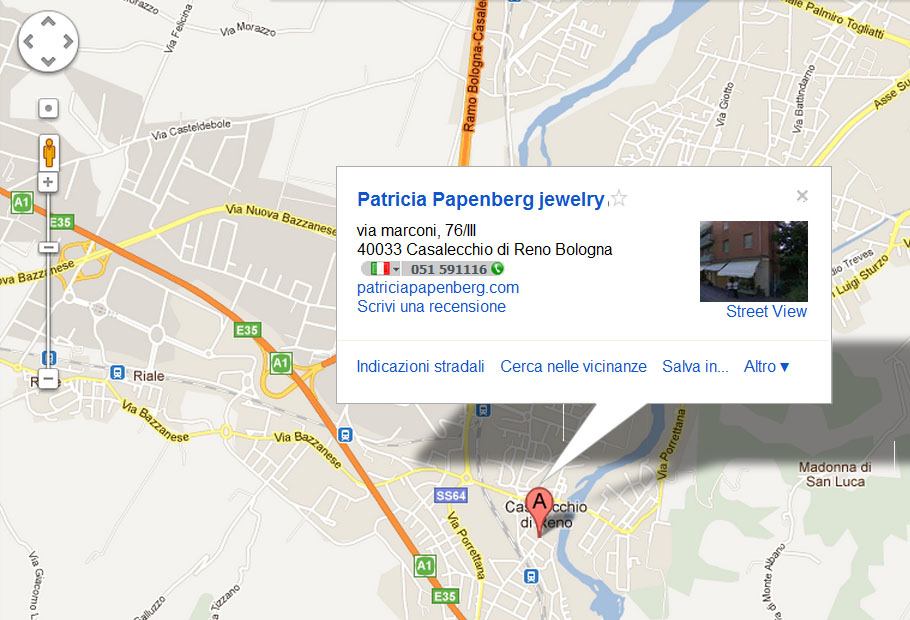 Come raggiungerci: Patricia Papenberg - Shopping online